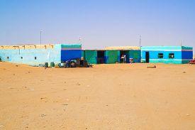 foto of sahara desert  - Sahara desert Sudan  - JPG