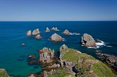 Nugget Point Rocks, New Zealand