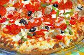 Mediteraneean Pizza
