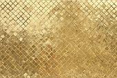 golden mosaic background