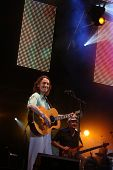 FARO, PORTUGAL - JULY 17: Roger Hodgson (supertramp) performs onstage at Internacional motorcycle sh