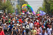TEL AVIV - JUNE 11: Annual Gay Pride Parade and Week of Proud celebrations on the streets June 11, 2
