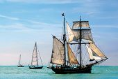stock photo of pirate ship  - nostalgic pirate - JPG