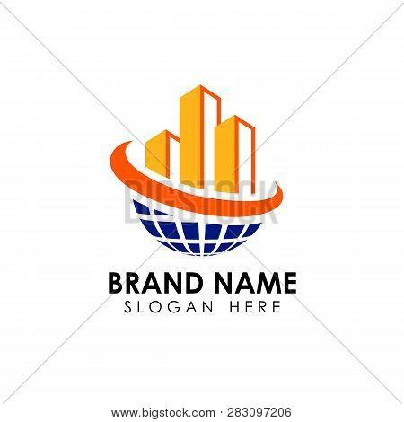 Building Construction Logo Design Template