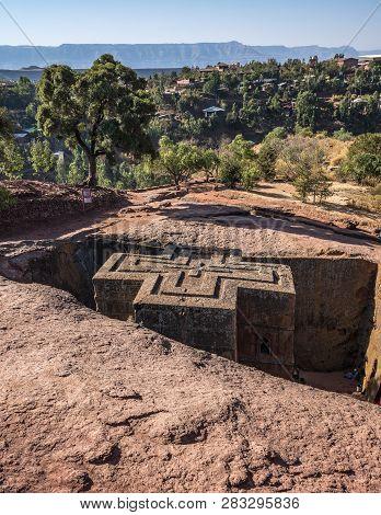 Lalibela Ethiopia Famous Rockhewn Church