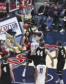 A Flagrant Foul Of Arizona Wildcat Angelo Chol