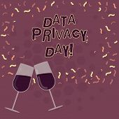 Word Writing Text Data Privacy Day. Business Concept For Date In January To Raise Awareness And Prom poster
