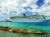 image of cruise ship caribbean  - Luxury Vacation - JPG