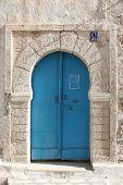 An oriental entrance door