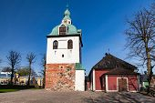 Porvoo Cathedral Is A Cathedral Of The Evangelical Lutheran Church Of Finland In Porvoo, Finland. It poster