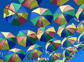 Brazillian Carnival. Symbol Of The Culture Of Pernambuco, Brazil. Frevo, Umbrella, Music, Dance, Cul poster
