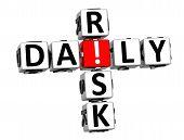 3D Daily Risk Crossword