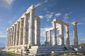 image of poseidon  - Temple of Poseidon  - JPG