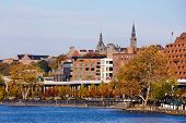 Georgetown Waterfront Park, Washington DC..