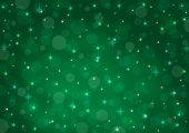 Abstract Background Green Bokeh