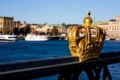 Gold Crown In Stockholm