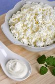 Cottage Cheese With Sour Cream