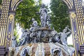 Nancy (france) - Fountain In Stanislas Square