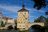 Bridge Town Hall In Bamberg, Bavaria