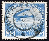 Postage stamp Austria 1915 Airplane