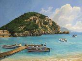 The Boats of Paleokastritsa