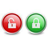 2 popular buttons - lock