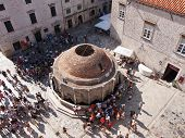 Dubrovnik, Croatia - July 17: The Summer Season Starts And Thousands Of Tourist Visit The Big Onofri