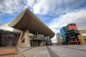 The Lowry at Salford Quays, Manchester UK.