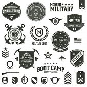 Militaire Badges