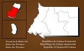 Guiné Equatorial - Bioko Sur realçado