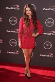 LOS ANGELES - JUL 17:  Selena Gomez arrives at the 2013 ESPY Awards at the Nokia Theater on July 17,