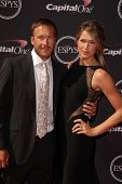 LOS ANGELES - JUL 17:  Bodi Miller, Morgan Miller arrives at the 2013 ESPY Awards at the Nokia Theat
