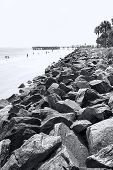 High Key St. Simon's Island Georgia Sea Wall Barrier
