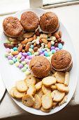 Snacks Served On A Platter