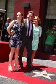 LOS ANGELES - JUL 16:  Bryan Cranston, Daughter and Wife at the Hollywood Walk of Fame Star Ceremony for Bryan Cranston at the Redbury Hotel on July 16, 2013 in Los Angeles, CA