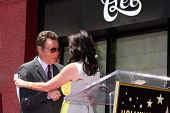 LOS ANGELES - JUL 16:  Bryan Cranston, Jane Kaczmarek at the Hollywood Walk of Fame Star Ceremony fo