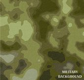stock photo of camoflage  - Vector military camouflage texture background - JPG