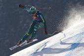 KITZBUHEL TIROL, AUSTRIA - JAN 24 2009; Kitzbuhel Tirol Austria, Bode Miller (USA) joint fourth  in