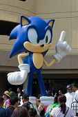 Sega Sonic The Hedgehog, At The Comic Con