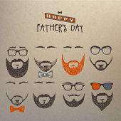 Título: Conjunto de barbas