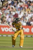 LONDON - 12 SEPT 2009; London England: Australia team player Michael Clarke playing in the Nat West,