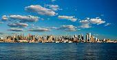 New York City Uptown Skyline