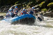 White Water Rafting Zamora Ecuador