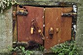 Old Rusty Doors