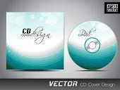 CD Cover-Entwurfsvorlage mit Text-Raum.