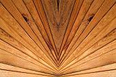Wooden Slats Background.