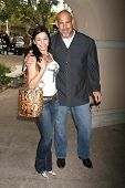 Bill Goldberg and wife Wanda at the 2007 TCA Winter Press Tour. Ritz Carlton Huntington Hotel, Pasad