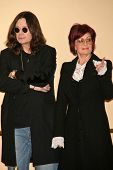 Ozzy Osbourne and Sharon Osbourne at the OZZFEST 2007 press conference. Century Plaza Hotel, Century City, CA. 02-06-07