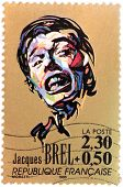 Jacques Brel Stamp