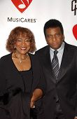 Charley Pride and wife Rozene at the 2007 MusiCares Person of the Year Honoring Don Henley. Los Ange